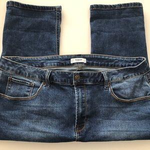 KENSIE Jeans Capri Crop Straight Women's 14 32